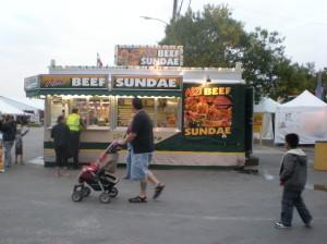 beef sundae