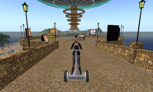 on a segway_001